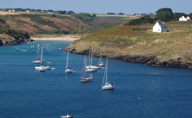 Belle Ile en Mer dans le Morbihan
