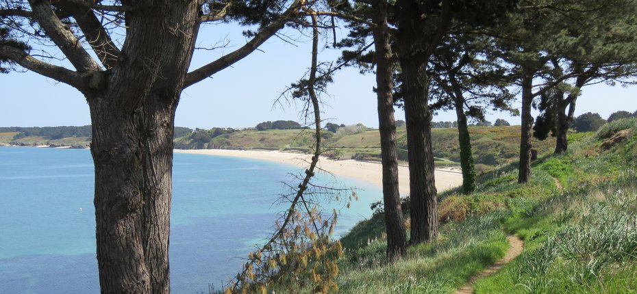 Les Grands Sables Plage De Belle Ile Location Mobil Home