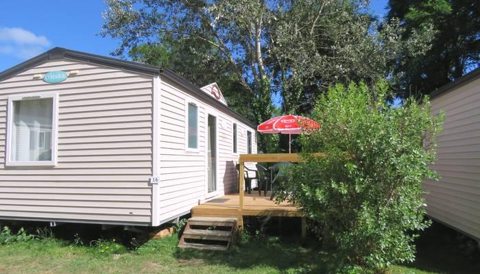 Location mobil-home 3 chambres à Belle-Ile